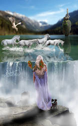 Daenerys by herdelicatespine