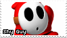 Shy Guy Stamp by DumblyDoor