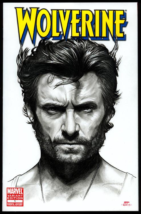 WOLVERINE Sketch Cover by S-von-P