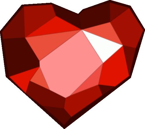 Ruby Heart Cutie Mark by Kinnichi