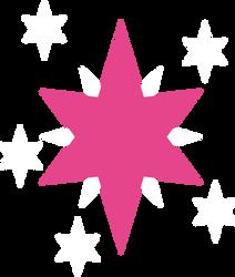 Twilight Sparkle's Cutie Mark by Kinnichi