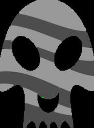 Tiger Skull Cutie Mark by Kinnichi