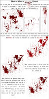 Blood Effects in Photoshop by IvyPhotography