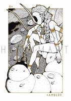 Masquerade of Sorrows VI - Ambedo by HariamArt