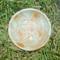 Ceramic Pentacle Offering Bowl by Merytsetesh