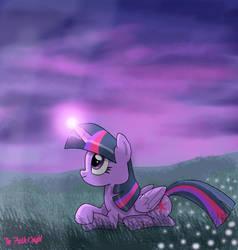 Twilights Purple Evening by TheFreshKnight