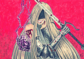 Fantasy character portrait 01 by PiktaDvasia