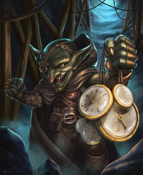 Time Thief by N8watcher