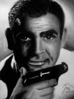 Sean Connery as James Bond by Jonetsu93