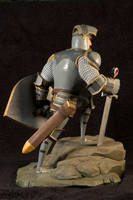 The Knight 05 Painted by clarkartist