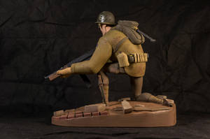 The Soldier 05 (painted) by clarkartist