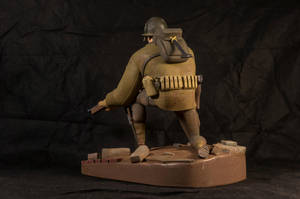 The Soldier 04 (painted) by clarkartist