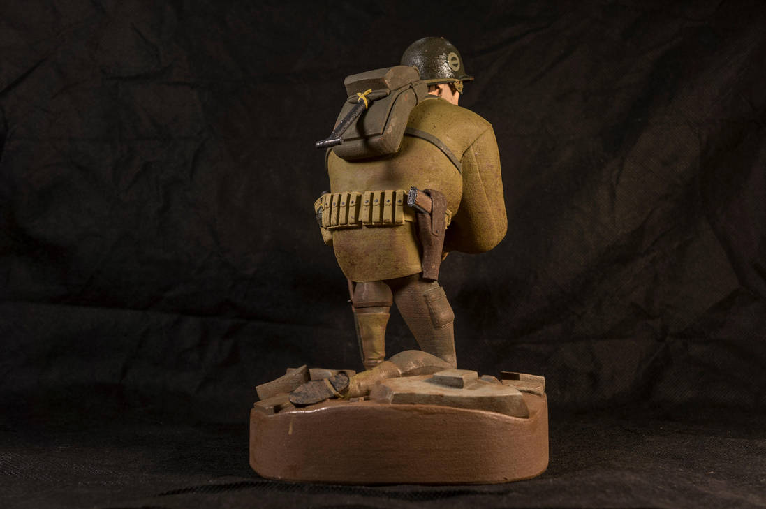 The Soldier 03 (painted) by clarkartist