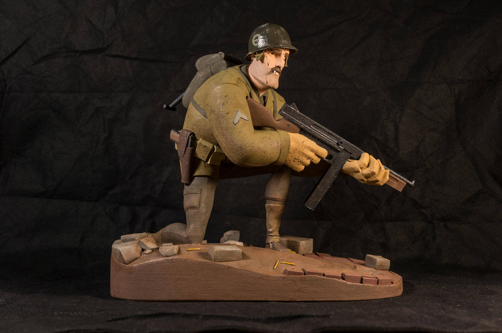 The Soldier 01 (painted) by clarkartist