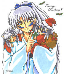 Inu +Merry Christmas+ by Timaeus