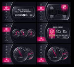 Car GUI preview by upiir
