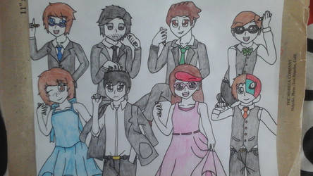 Drawers Group by Pachigirl1