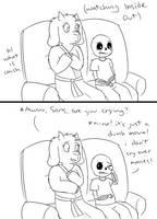 Watching a Movie by feraIigatrs