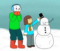 Do you wanna build a snowsans by feraIigatrs