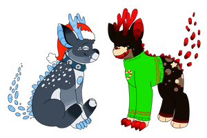 Holiday Cheer by feraIigatrs