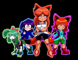 Team Paprika Together by TomoDX5