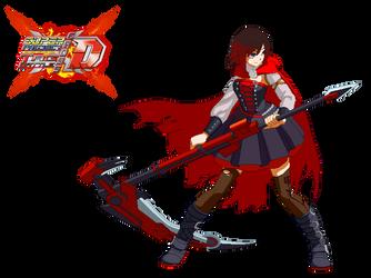Super Project Cross Tag Battle Destiny - Ruby Rose by Crisostomo-Ibarra