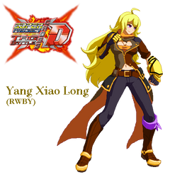 Super Project Cross Tag - Yang Xiao Long by Crisostomo-Ibarra