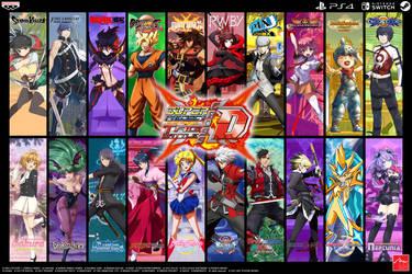 Super Project Cross Tag Battle Wallpaper by Crisostomo-Ibarra