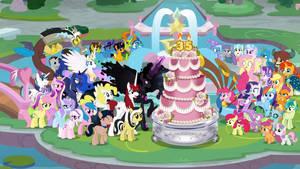 Happy 35th Anniversary, My Little Pony! by Crisostomo-Ibarra