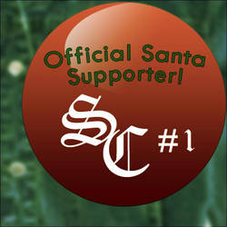 I Support Santa Pin by SiLenT-Snake