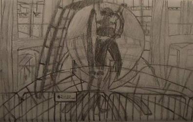 David Blaine at Lincoln Center by Hrodulf
