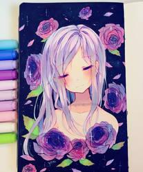 Purple Rose by Yoai