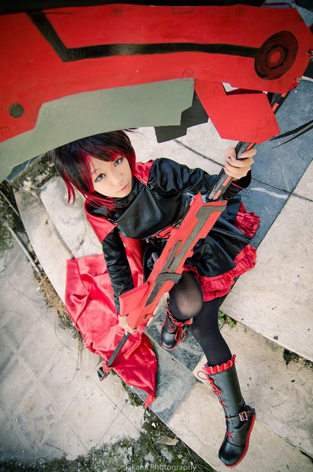 Ruby Rose Rwby Cosplay By Witchcraft997 On Deviantart