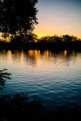 Sunset at Cambridge by Inarita