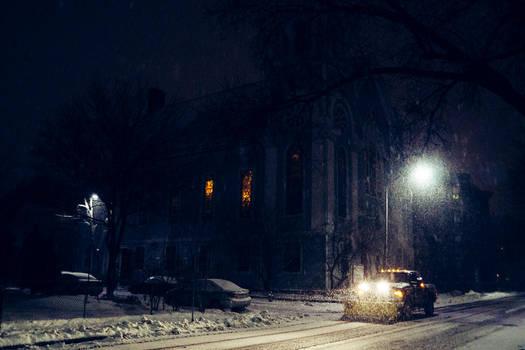 Monday Blizzard (at night) II by Inarita
