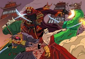 Samurai Gunn by mrbubbles2250