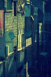 my neighbor balcony by JamalYusef