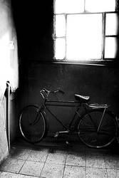 bike over the stairs by JamalYusef