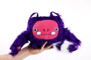 Cattroll Cat Troll gnome Handmade Soft Toy Plushie by Greencherryplum