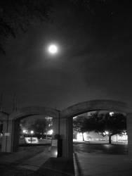 Arches at night by RadVolta85