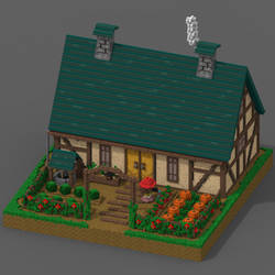 Farmhouse/Voxelarts by Blary