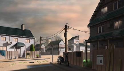 Village by Mrpaunchno