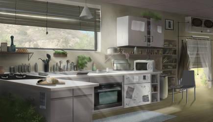 The kitchen by Mrpaunchno