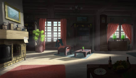 The living room. by Mrpaunchno
