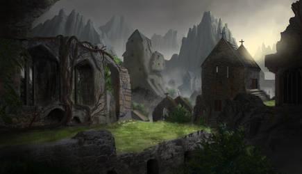 Ruins. by Mrpaunchno