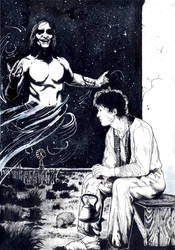 Eros y Kuref by claudiobasso