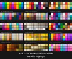 FREE 37+ Color Swatches Set for Procreate by georgvw