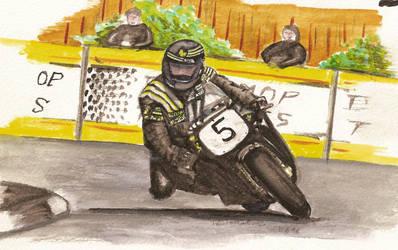 cornering motorbike by keef-kdni