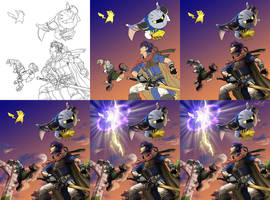 Brawl Progress Shots by iamymai