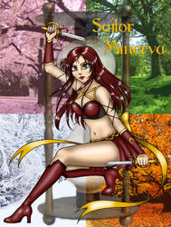Contest: Sailor Minerva by sailorangel